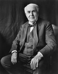 Friday Spotlight: A Quote By Thomas A.Edison